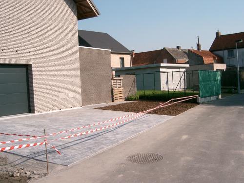 Terrassen & opritten
